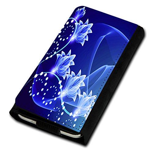 Book Style Flip Handy Tasche Case Schutz Hülle Foto Schale Motiv Etui für Microsoft Lumia 532 - Flip U3 Design9
