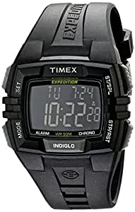 Timex Herren-Armbanduhr XL Full Pusher CAT Digital Resin T49900
