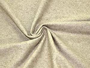Wollfilz, Meterware ab 0,5 m, Bastelfilz 140 cm, Breite 2 mm (beige)