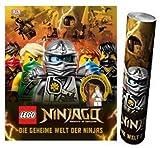 DK Verlag Lego Ninjago. Die geheime Welt der Ninjas Gebundene Ausgabe + Ninjago Poster