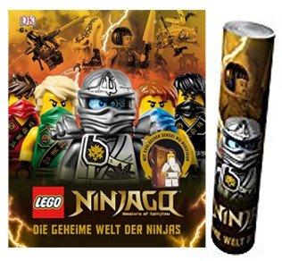 DK Verlag Lego® Ninjago®. Die geheime Welt der Ninjas Gebundene Ausgabe + Ninjago Poster
