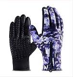 Edwiin Winddichte Warmrutschige Handschuhe Touchscreen Handschuhe Atmungsaktive Reithandschuhe -