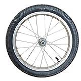 Unbekannt 16 Zoll Laufrad Vorderrad Alufelge f. Anhänger/Kinderrad 8 mm Achse m. Muttern