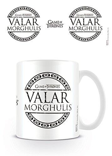 Taza cerámica Valar Morghulis