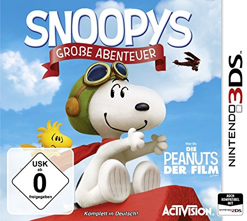 Snoopys Große Abenteuer - [3DS]