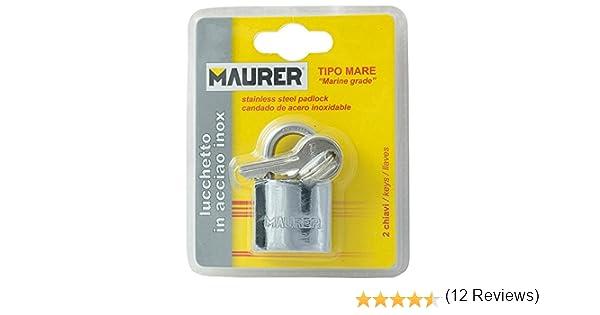 Normale arco 30 millimetri lucchetto in acciaio Maurer 3100850