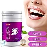 Mitlfuny Aktiviertes Perlenpulver,Bleaching ZäHne,Zahnaufhellung,NatüRliche Zahnaufhellung,Teeth Whitening,Activated Charcoal Teeth Whitening Powder (Pink)