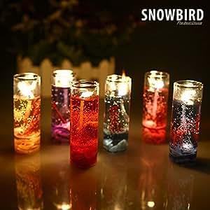 Snowbird Pencil Decorative Candle (Set of 6 PC)