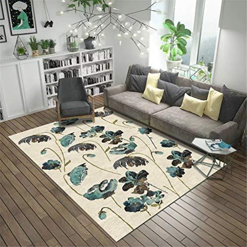 Alfombra de alfombras abstractas de Tinta China en 3D Alfombra del área...