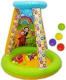 Unbekannt Bällepool / Kugelbad -  Teletubbies  - incl. 20 Stück Bälle - Pool aufblasbar - Zelt für INNEN & AUßEN - Bällebad / Ball - Bad - Spielzeugbälle - Kinderbäll..