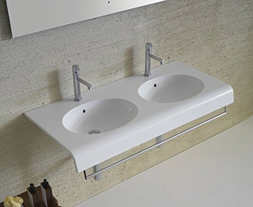 Preisvergleich Produktbild Bowl + Waschbecken doppelte Schale ausgesetzt
