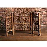 Descripción:   - Hecho del bambú, parece algo del viejo cuento de hadas chino pero es tan robusto como es ecológico seguro y hermoso.  - Se puede colocar en la mesa o en cualquier lugar de la sala, también se puede utilizar para separar...