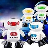 Gaddrt Enroulez le jouet fonctionnant de robot pour le bébé badine le...