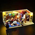 BRIKSMAX Kit di Illuminazione a LED per The Big Bang Theory, Compatibile con Il Modello Lego 21302 Mattoncini da…  LEGO
