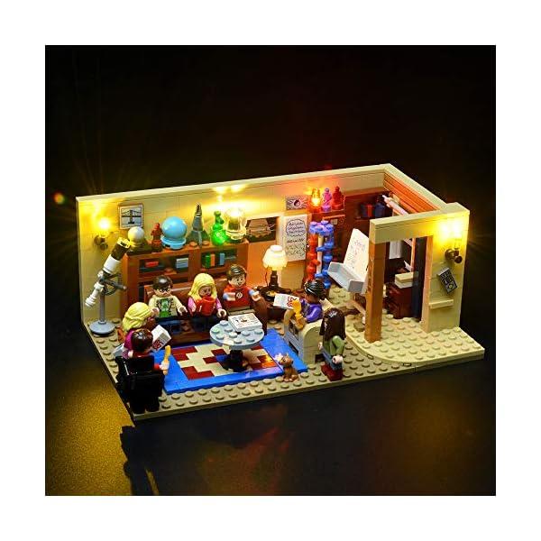 BRIKSMAX Kit di Illuminazione a LED per The Big Bang Theory, Compatibile con Il Modello Lego 21302 Mattoncini da… 1 spesavip