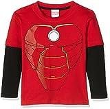 MARVEL AA-Iron Man Costume-Kids L/S T-Shirt