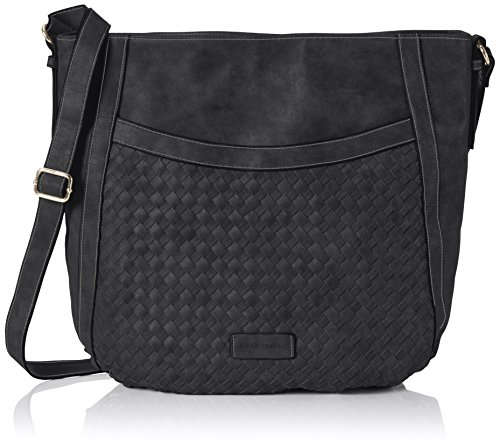 GERRY WEBER - Jazzed Up Shoulderbag Lvz, Borsa a spalla Donna nero (nero)