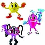 PacMan - Figuras Tripack Aventura: PacMan 3, Cylindria, Spiral (Bandai...