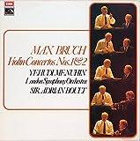 Violin Concerto No.1 In G Minor, Op.26 / Violin Concerto No.2 In D Minor, Op.44 - Max Bruch - Yehudi Menuhin - London Symphony Orchestra*, Sir Adrian Boult LP
