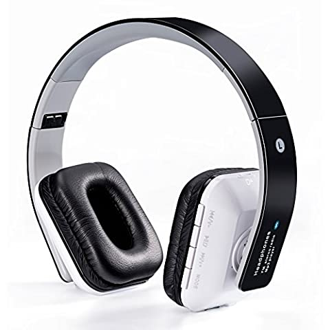 WanEway Over-Ear Bluetooth Headphones, Stereo Sound and