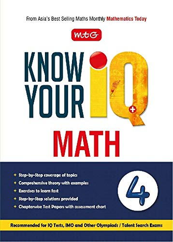 Know your IQ Maths Class-4