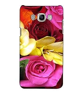 Fuson Designer Back Case Cover for Samsung Galaxy J7 Prime (2016) (Colourful Rose Bunch)