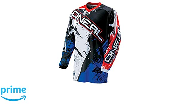 Oneal Element 2016 Shocker Motocross Pants 34 Black//Blue//Red 0124S-534
