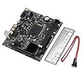 LasVogos H61 Ordinateur de Bureau Carte mère Carte mère 1155 Interface de processeur USB2.0