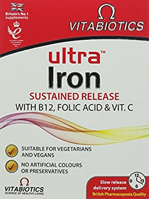 Ultra Iron Tablets, Pack of 30 from Ultra