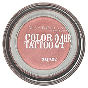Gemey Maybelline New York Fard à Paupières Color Tattoo -Pink Gold