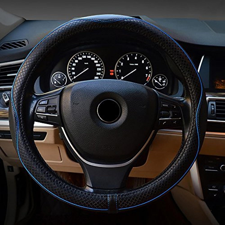 FREESOO Couvre Volant Voiture Respirante Antid/érapante Housse de Volant de Voiture pour Voiture//Camion//SUV Noir 38cm