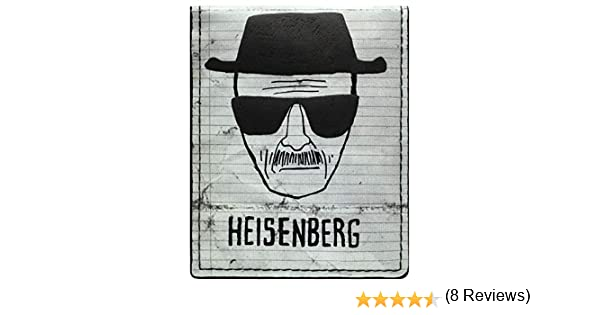 AMC Breaking Bad Walter White Heisenberg blanc Portefeuille