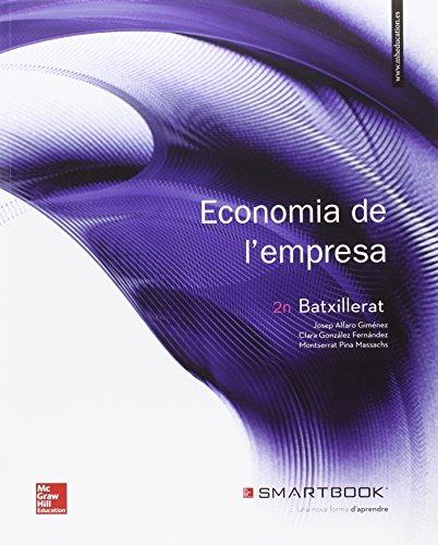 Portada del libro Economía De L'Empres. Batxillerat - 9788448609368