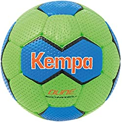 Kempa Dune Pelota de balonmano, Unisex adulto, Verde pálido / Azul, 1