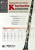 Alfred's Fingering Charts Instrumental Series: Grifftabelle Klarinette Boehm-System | Fingering Charts Bb Clarinet French System  |  Klarinette  |  Buch