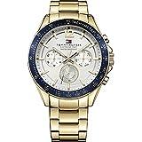 Tommy Hilfiger Watches 1791121 Mens Luke Gold Tone Watch