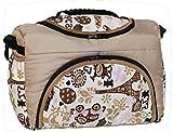 TP-47 Wickeltasche Shopper Reisetasche PIA von Baby-Joy XXXL Übergröße Beige Creme Comic Windeltasche Pflegetasche Babytasche Tragetasche