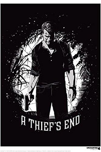Uncharted 4 Art Print Thief's End 42 x 30 cm Iron Publishing Posters Wallscrolls