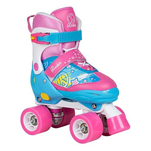 Rookie Fab RKE-SKA Kinder-Rollschuhe Blue/Pink Gr. 25.5-29 (US 9-12) 25.5