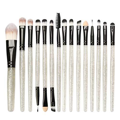 Dorical Make-up-Pinsel set 15 Stück/Professionellen Schminkpinsel Kosmetikpinsel Lidschatten...