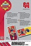 Jumbo Spiele 19402 Jumbo 19402-Fireman Sam Domino Kartenspiel Test