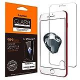 Spigen 042GL20771 - Film Protecteur en Verre trempé, Facile à Poser, Ultra résistant, pour iPhone 7