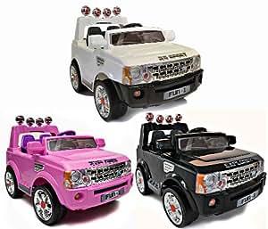 Rocket RS Sport Kids Ride on Jeep - 12v - 3 Colours (Pink)