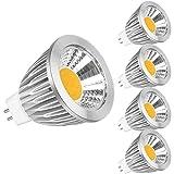 Ampoule LED GU5.3 LED Blanc Chaud 7W Equivalent Ampoule Halogene 50W,No Flicker 560...