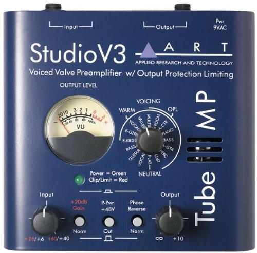 Top-ventil Regler (ART Tube MP V3Tube Mikrofon-Vorverstärker mit variablem Value-Voicing)