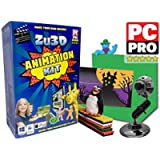 Zu3D Animation Kit for Windows PCs, Apple Mac OS X and iPad iOS: complete stop motion animation kit with camera…