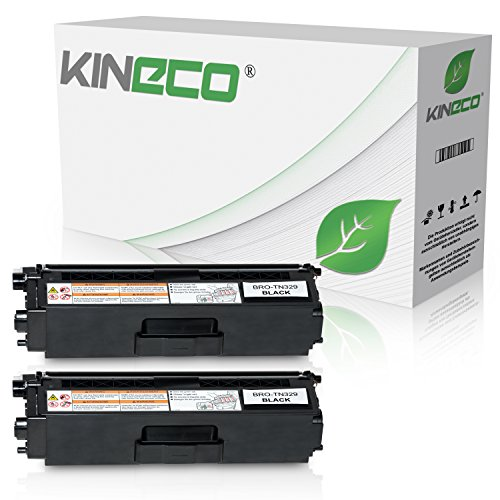 2 Toner kompatibel zu Brother TN-329BK für Brother DCP-L 8450CDW, MFC-L8600CDW, MFC-L8850CDW - Schwarz je 6.000 Seiten (Brother Toner-l8600cdw)