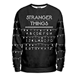 Noorhero - Felpa Uomo - Stranger Things Light Alphabet