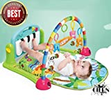 #4: Kick & Play Best Toy for Kids by CIERN,with Multi-Function Piano Baby Gym & Fitness Rack (Multi-Colored) Best Buy