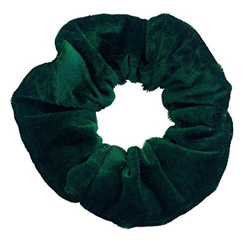 Haargummi Schwarzes Großes (Haargummi aus edlem Samt extra groß in Grün)